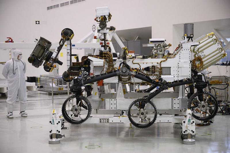 مریخ نوردِ 2020 در جستجوی فسیل