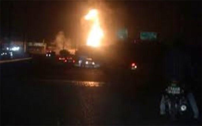 انفجار یک مرکز غیرمجاز تبدیل گاز مایع در اسلامشهر
