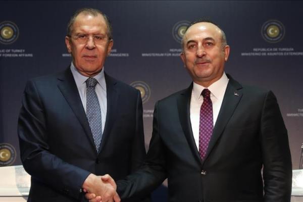 وزرای خارجه روسیه و ترکیه دیدار می کنند