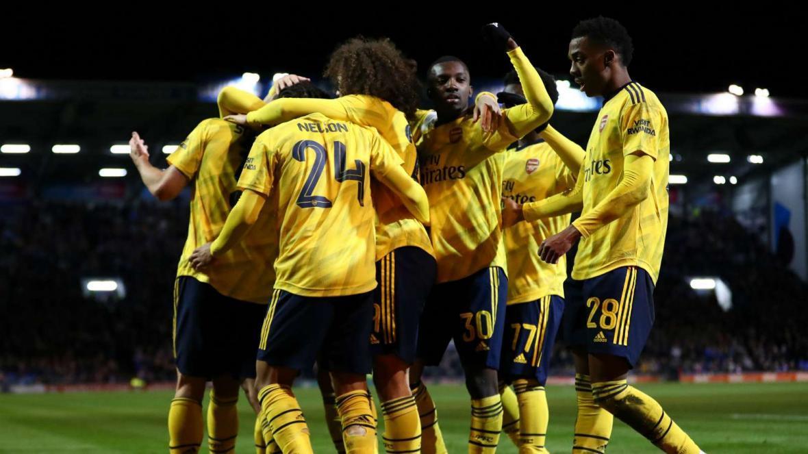 صعود آرسنال به یک چهارم نهایی FA Cup