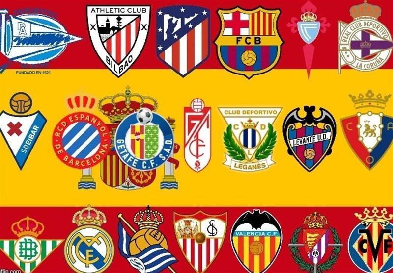 بازی های لالیگا و لیگ دسته دوم اسپانیا 2 هفته تعلیق شد