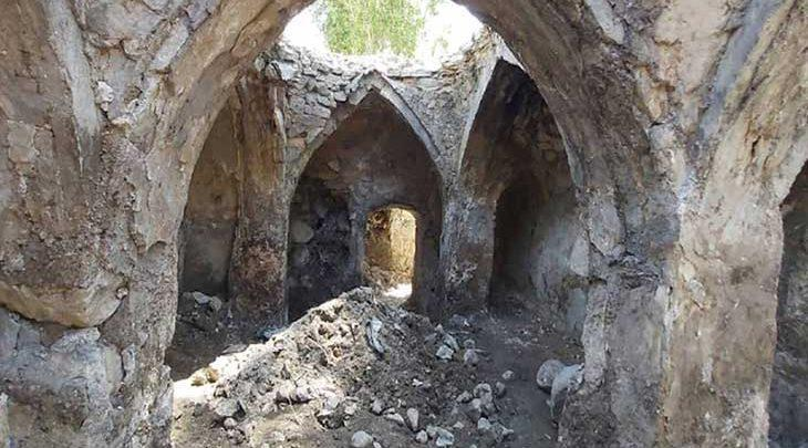 بازسازی حمام تاریخی روستای آسور شهرستان فیروزکوه شروع شد