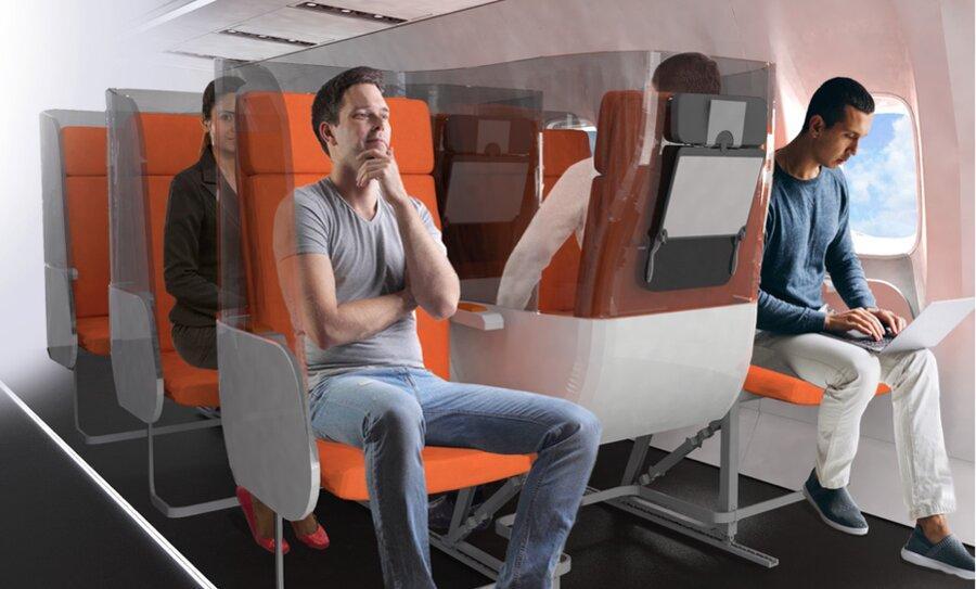 ایده تازه برای جایگاه های هواپیما در دوره کرونا ، وقتی ژانوس، خدای دو صورت رومی به یاری صنعت هوانوردی می آید