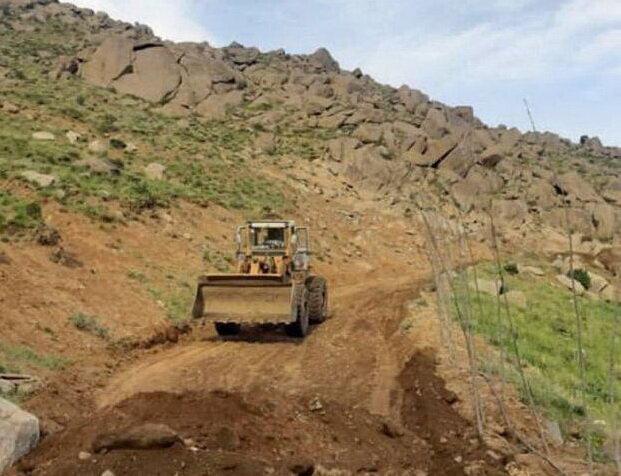 منابع طبیعی مجوزی برای جاده کشی در کوه الوند صادر نکرده است