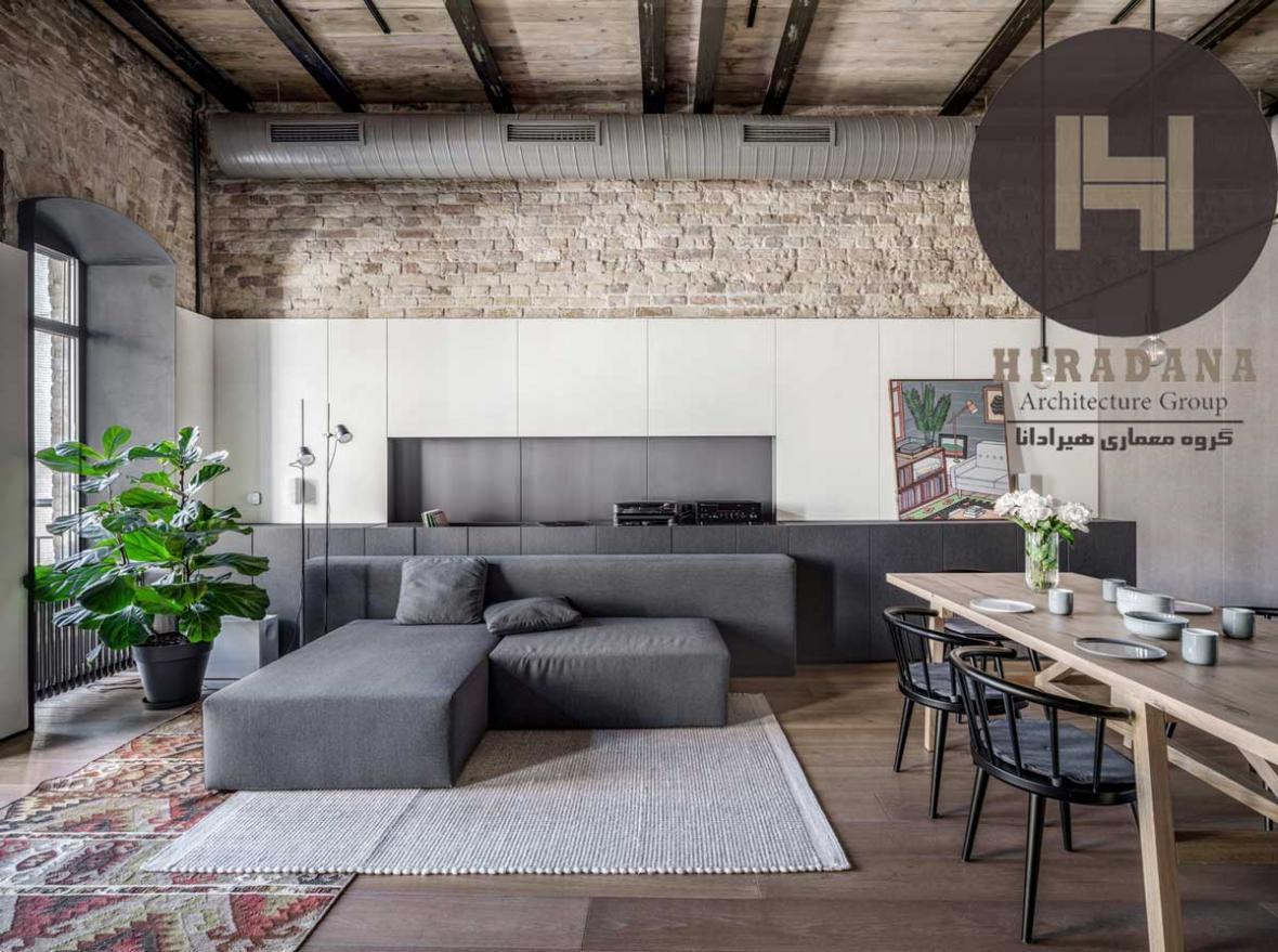 طراحی و بازسازی خانه پوشکا در کیف اکراین