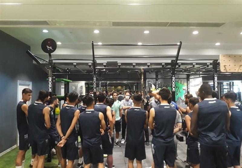 گزارش تمرین استقلال، درخواست مجیدی از بازیکنان و غیبت دیاباته