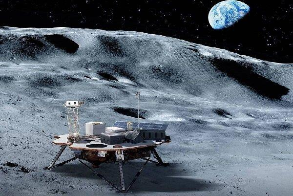 شدت اشعه های فضایی روی سطح ماه از ایستگاه فضایی بیشتر است