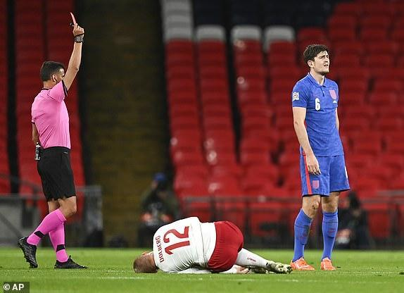 دانمارک 1 - 0 انگلیس، رنگ جدید خوش یمن نبود!