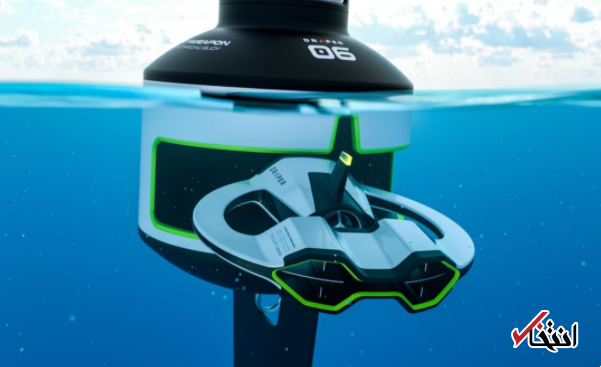 پاکسازی اقیانوس ها با ربات خودران