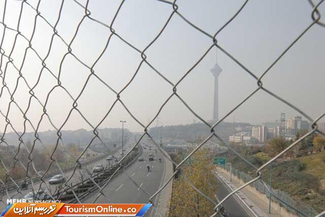 هوای تهران باز هم در شرایط ناسالم برای گروه های حساس