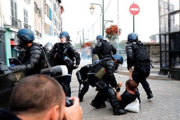 ضرب و شتم یک مرد سیاهپوست به دست پلیس فرانسه