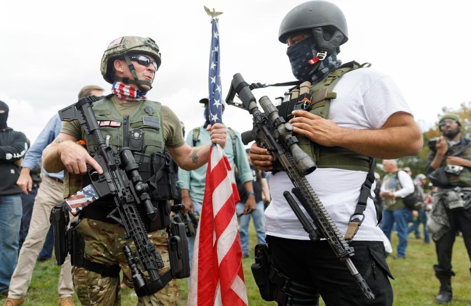 خبرنگاران گروه بحران:آمریکا با شبح خشونت انتخاباتی روبرو است