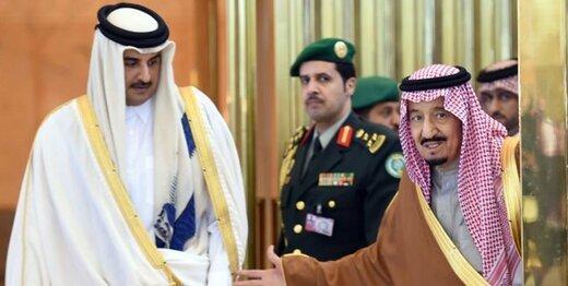 اولین بده بستان قطر و عربستان پس از قهر چهارساله