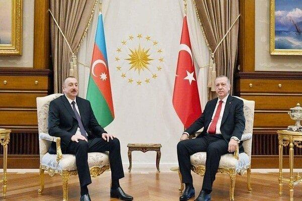 الهام علی اف و اردوغان تلفنی تبادل نظر کردند