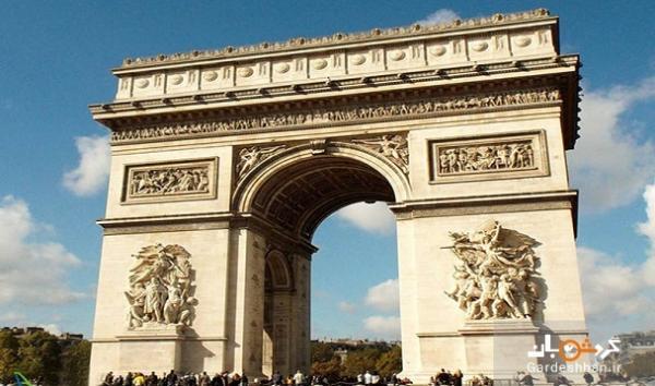 طاق نصرت؛ جاذبه تاریخی پاریس در شانزه لیزه