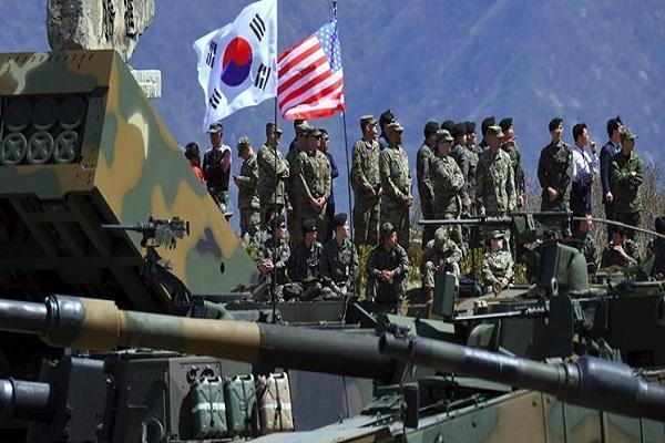 رزمایش نظامی مشترک آمریکا و کره جنوبی روز دوشنبه شروع می گردد
