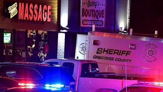 3 تیراندازی در 3 سالن ماساژ در آمریکا، 8 نفر کشته شدند