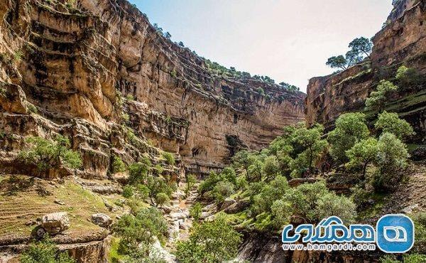 ژئوپارکی چند میلیون ساله که در رشته کوه های زاگرس قرار گرفته است