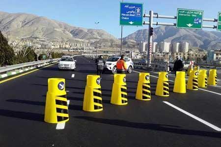 انسداد 8 جاده به دلیل نبود ایمنی در راستا