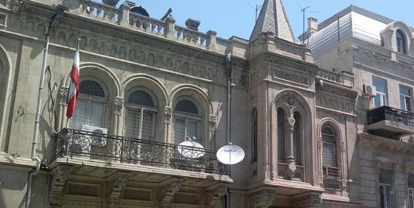 واکنش سفارت ایران در باکو نسبت به ادعای حضور کامیون های ایران در قره باغ