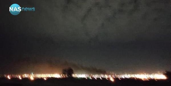 حملات پهپادی در نزدیکی کنسولگری آمریکا در اربیل