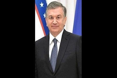 پیغام تبریک رئیس جمهور ازبکستان برای سید ابراهیم رئیسی