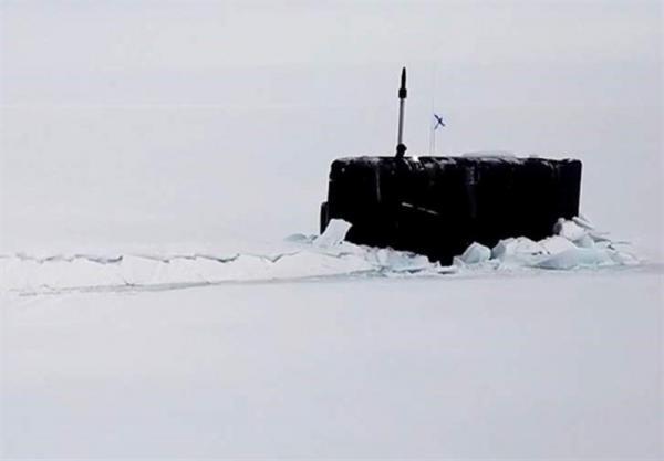 شروع مانور زیردریایی های مدرن روسیه در منطقه قطب شمال