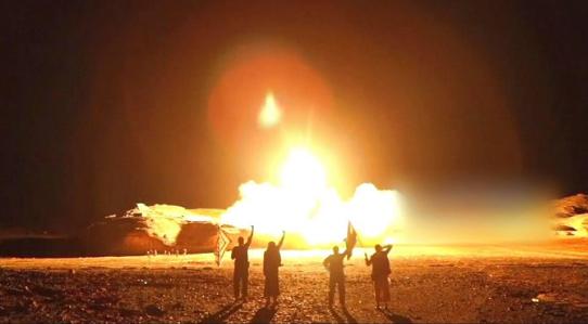 نجران و خمیس مشیط هدف موشک ها و پهپاد های یمن