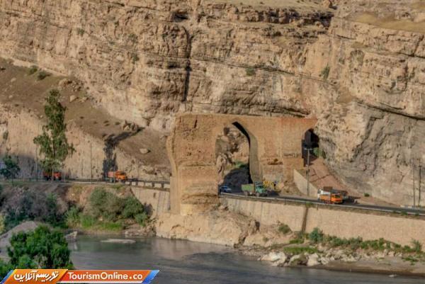 عملیات بازسازی پل دختر انتها یافت